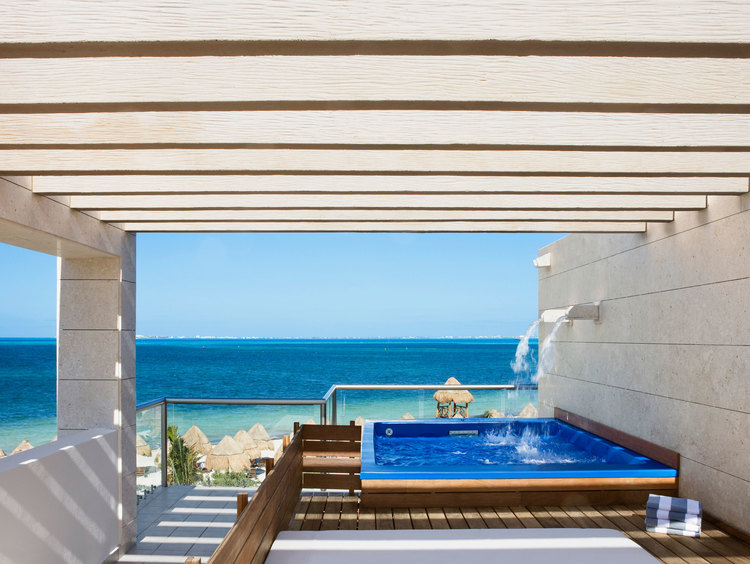 Beachfront Two-Story Casita Luxury Suite at Beloved Playa Mujeres