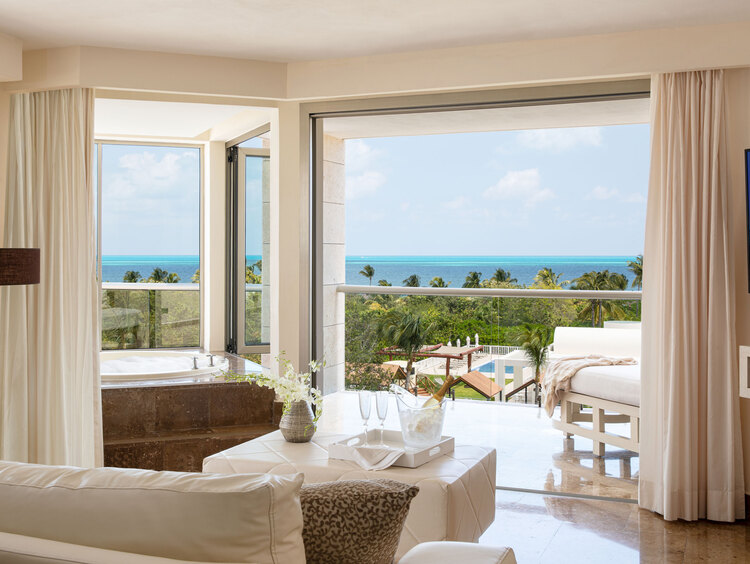 Beloved Playa Mujeres Luxury Junior Suite with Ocean View
