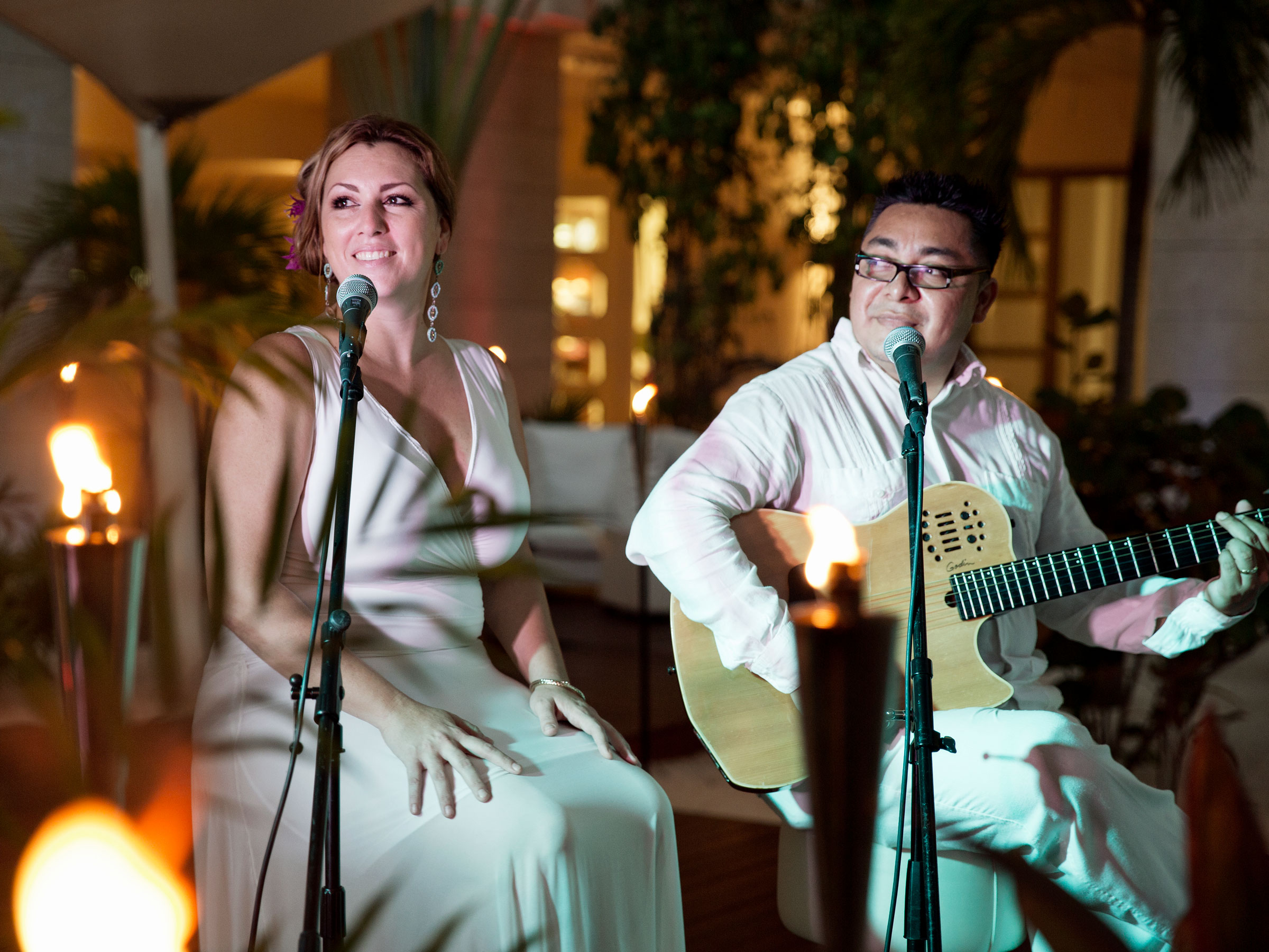 Live Music at Beloved Playa Mujeres Resort