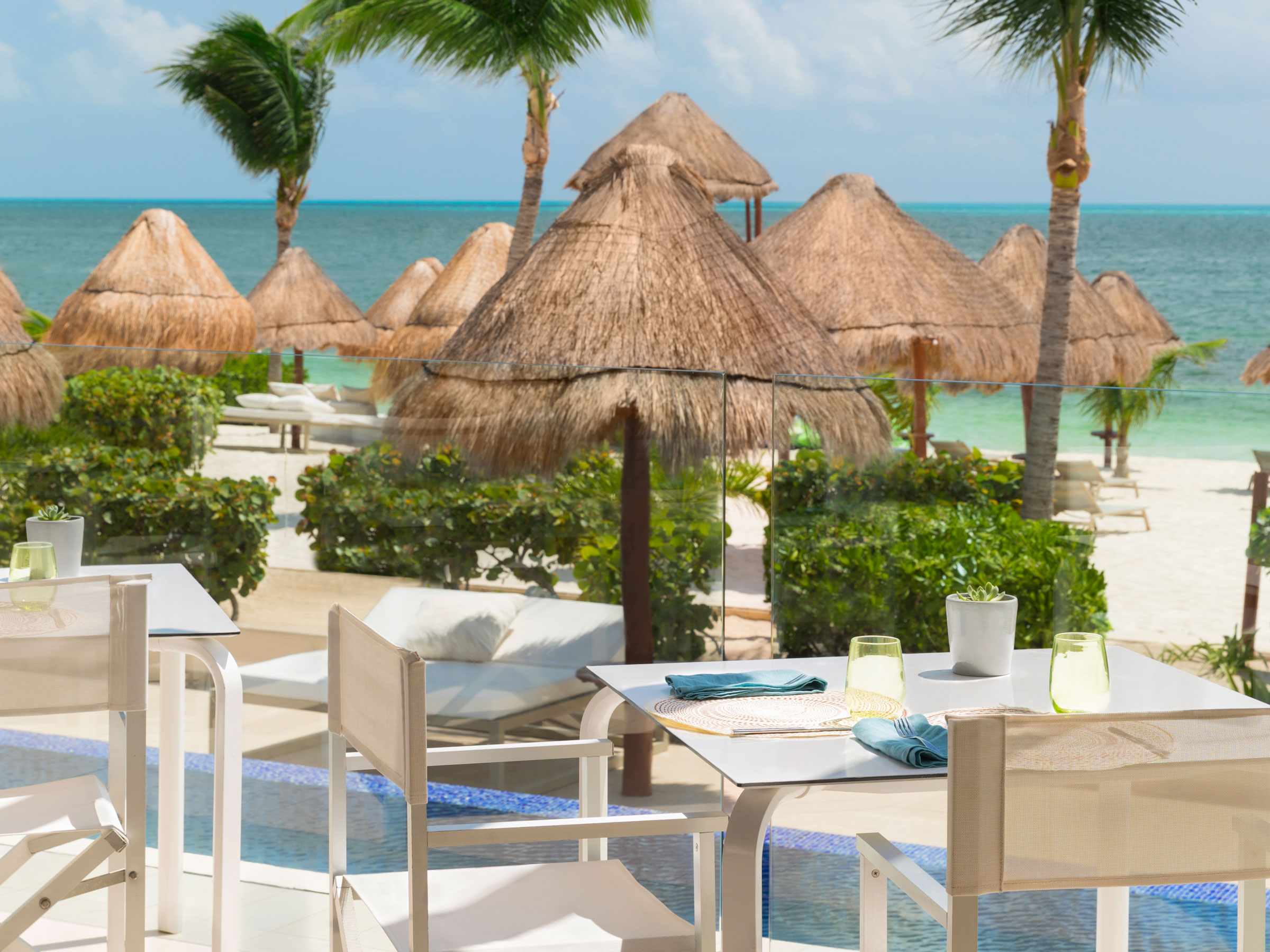 Beachfront Italian Restaurant in Cancun